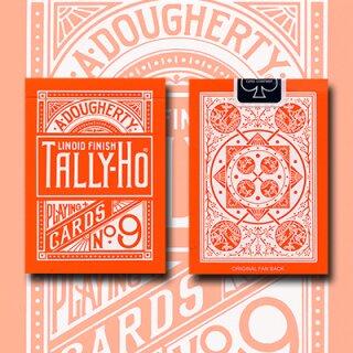 Tally Ho Reverse Fan back (Orange) Limited Ed. by Aloy Studios