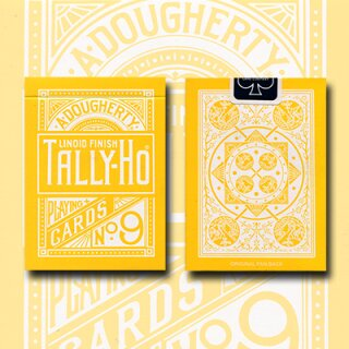 Tally Ho Reverse Fan back (Yellow) Limited Ed. by Aloy Studios